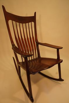 King David Mahogany Rocking Chair by jeremiah-martin.com