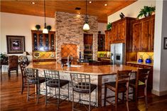 Rustic Kitchen my hill country home kitchen!