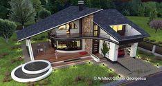 Luxury Villa Inspired From Macedonia – Amazing Architecture Magazine Online Architecture, Architecture Magazines, Modern Architecture, Amazing Architecture, House Layout Plans, Modern House Plans, House Layouts, Villa Design, Roof Design