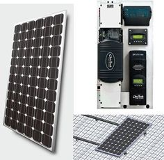 OFF THE GRID, solar power setup - wouldn't it be nice!  Living the dream.