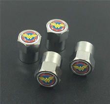 4PCS Wonder Woman Bike Car/Truck Tire/Wheel Stem Air Valve Caps Covers Y10221 in   eBay