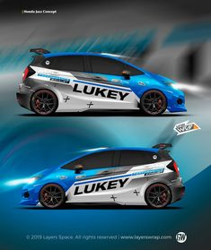Designs that go beyond expectation! We custom wrap design and get the wrap project into reality . This is a concept design specially… Honda Jazz, Honda Fit, Custom Wraps, Rally Car, Car Wrap, Car Stickers, Rc Cars, Super Cars, Car Seats