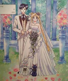 New Sailor Moon marriage registration paperwork design featuring Classic Anime Mamochan and Usagi! Makes me wanna marry ASAP and throw a Sailor Moon themed celebration party. Sailor Moon Manga, Sailor Moons, Sailor Moon Crystal, Arte Sailor Moon, Sailor Jupiter, Sailor Moon Personajes, Sailor Moon Wedding, Bd Art, Princesa Serenity