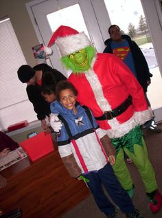 Annual GRINCH Party! 2011  Four Winds Apartments  Anderson, IN