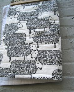 Super cute baby quilt. This etsy shop rocks.