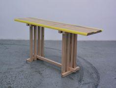 jo nagasaka: flat table peeled at spazio rossana orlandi