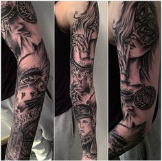Tattoo done by me Rebecca Asprou