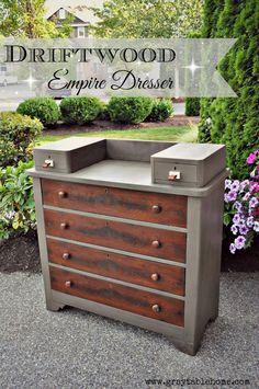 Driftwood Empire Dresser - Gray Table Home