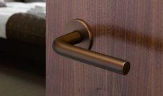 3508 - Modric lever handles on concealed Quadaxial fixing roses - Allgood Door Furniture, Door Handles, Bronze, Hardware, Ovet, Interior Design, Barn Doors, Wales, Design Ideas