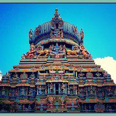 Perumal - Vishnu Temple. Madurai. 30 January 2015. Madurai, Incredible India, 30th, Temple, January, The Incredibles, Instagram Posts, Temples