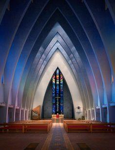 Churches by Dirk Wiedlein (modern take on gothic style)