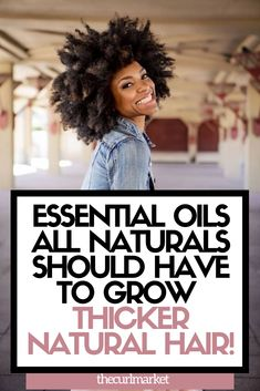 The Best Essential Oils for Black Natural Hair Growth