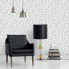 Leopard wallpaper Daisy Copenhagen