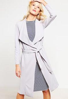 New Look Trenchcoat - grey für 39,95 € (02.08.16) versandkostenfrei bei Zalando bestellen.