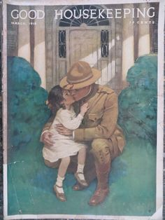 Rare Good Housekeeping March 1918 GREAT ADS Jessie Wilcox Smith Cover KEWPIES