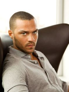 Jesse Williams has the most amazing eyes on the planet ... most definitely on a boy.