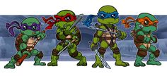Heroes in a half shell!!