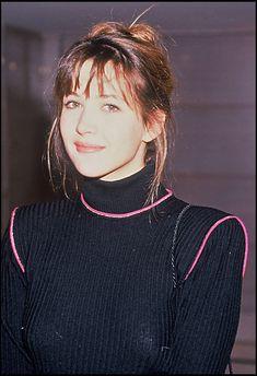 Sophie Marceau le 14 janvier 1992 à Paris