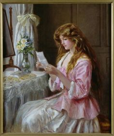 The Love Letter (1904) ~ by Nina Hardy: