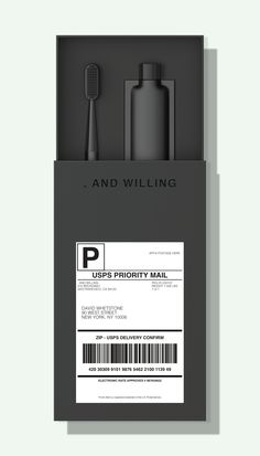 , AND WILLING is a subscription based service designed to keep consumers away from the uninspired grocery-store-dental-isle. Tea Packaging, Beauty Packaging, Cosmetic Packaging, Brand Packaging, Design Packaging, Bottle Packaging, Product Packaging, Parfum Caron, Packaging Inspiration