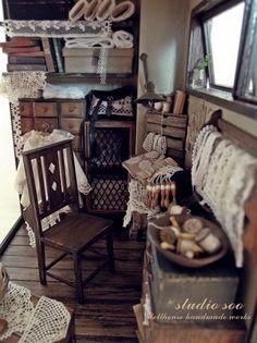 Lace room by studio soo, via Flickr