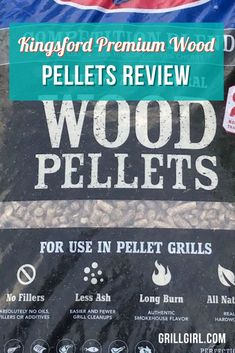 The Kingsford Premium Wood Pellets gave a great smoke flavor. The Competition Blend has a really nice, balanced smoke that I loved. Pellet smokers often give off a bit less smoke than other types of smoker, partly because of the extremely efficient way in which they burn the fuel.