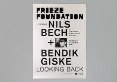 Frieze Foundation – Kellenberger–White