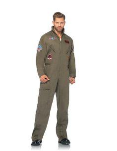 Leg Avenue Men's Top Gun Flight Suit Costume, Khaki/Green, Medium/Large - See more at: http://halloween.florenttb.com/costumes-accessories/leg-avenue-men39s-top-gun-flight-suit-costume-khakigreen-mediumlarge-com/#sthash.gq6wEUXO.dpuf
