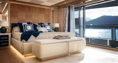 CRN built the yacht for an experienced owner. ODYSSEY is also known as CLOUD Designed by Zuccon International, Winch Design and CRN Yacht Design, Burgess Yachts, Exterior Design, Interior And Exterior, Architecture Design, Monaco Yacht Show, Yacht Builders, Guest Cabin, Yacht For Sale