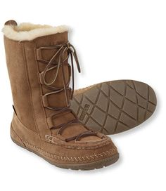 love these at L.L.Bean Women's Wicked Good Lodge Boots