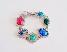 SARAH COVENTRY Frolic Bold Colorful Bracelet by SunshineSurprises