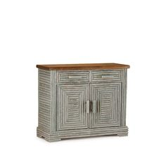 Rustic Buffet #2114 in Spruce Finish by La Lune Collection