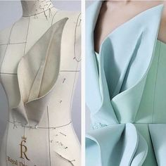 Trendy sewing patterns - This looks harder than it is, pretty simple 🎉 Anyone wants to see step by step how to make a floral design Would you prefer video or… Fashion Sewing, Diy Fashion, Ideias Fashion, Origami Fashion, Dress Fashion, Dress Sewing Patterns, Clothing Patterns, Sewing Clothes, Diy Clothes