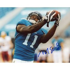 "Mike Sims-Walker Jacksonville Jaguars Fanatics Authentic Autographed 8"" x 10"" Catching Ball Horizontal Photograph"