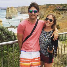 Twelve apostles Great Ocean Road. Australia. #12apostles #greatoceanroad #Australia #melbourne #summer #sun #fun #colors #happy #instamoment #travel #wanderlust #love #lovinglife #sunglasses #nature #view #victoria #landscape #iphone #couple #canon #reef by wansadowski http://ift.tt/1ijk11S