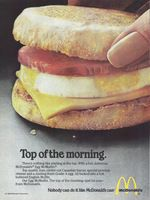 The Best Resource on the Net of Vintage Ads! McDonald's New Southwest Salad. Mcdonalds Egg Mcmuffin, White Castle Hamburgers, Richard And Maurice Mcdonald, International House Of Pancakes, Ihop Pancakes, Mcdonalds Fast Food, Southwest Salad, Top Of The Morning