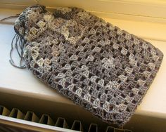 Granny Square Chic Hot Water Bottle Cover: free pattern