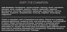 ENFP- The Champion