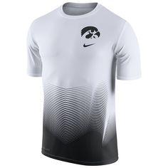 01fed458b29 College Iowa Hawkeyes Nike 2016 Basketball Disruption Player Dri-FIT  T-Shirt - White