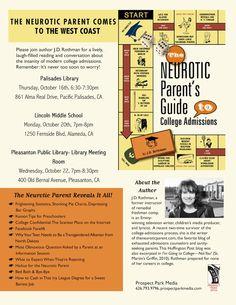 The Neurotic Parent Live Continue Reading, Parents, Author, Live, Dads, Raising Kids, Writers, Parenting Humor, Parenting