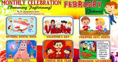 2018 Monthly Celebration with Monthly Motto February Classroom Rules Poster, Classroom Quotes, Classroom Bulletin Boards, Bullying Bulletin Boards, Monthly Celebration, Classroom Displays, Classroom Decor, Cvce Words, Math Crafts