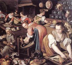 Kitchen, Vincenzo Campi, 1580s