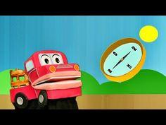 Los Puntos Cardinales- Este Oeste Norte Sur - Barney El Camion - Video para niños # - YouTube World Languages, Social Studies, Videos, Classroom, Make It Yourself, Toys, Youtube, Spanish, Learning