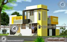 Indian Home Elevations | 45+ Ultra Modern Double Storey House Designs