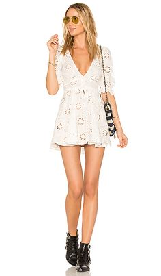 Shop for For Love & Lemons X REVOLVE Eyelet Dress in White at REVOLVE. Free 2-3 day shipping and returns, 30 day price match guarantee.