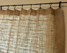 Rv Curtains, Custom Curtains, Sheer Curtains, Panel Curtains, Burlap Valance, Voile Panels, Curtain Clips, Window Coverings