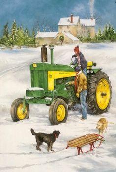 John Deere...Painting