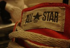 My old red converse - Kat Miaw