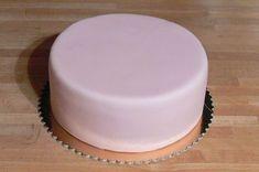 Potahovaný dort krok za krokem