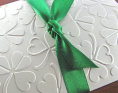 Irish Wedding (St. Patrick's Day Cards with Shamrocks & Hearts)